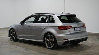 2019 Audi S3 8V MY20 Sportback S Tronic Quattro Silver 7 Speed Sports Automatic Dual Clutch.