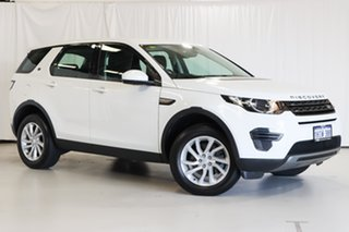 2017 Land Rover Discovery Sport L550 18MY TD4 110kW SE White 9 Speed Sports Automatic Wagon.