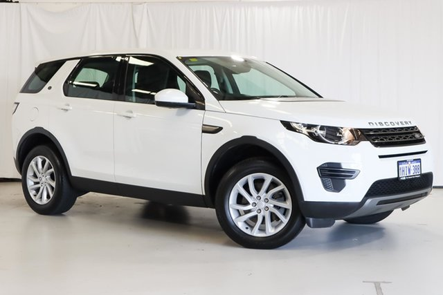 Used Land Rover Discovery Sport L550 18MY SE Wangara, 2017 Land Rover Discovery Sport L550 18MY SE White 9 Speed Sports Automatic Wagon