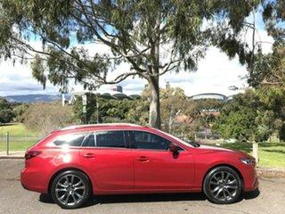2017 Mazda 6 GL1031 Atenza SKYACTIV-Drive Red 6 Speed Sports Automatic Wagon.