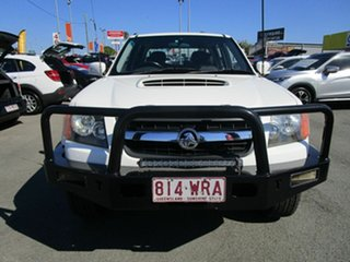 2011 Holden Colorado RC MY11 LX Crew Cab White 5 Speed Manual Cab Chassis