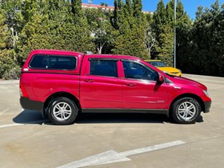 2010 Ssangyong Actyon Sports Q100 MY08 Red 6 Speed Automatic Double Cab Utility