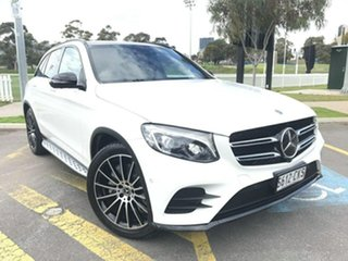 2018 Mercedes-Benz GLC-Class C253 809MY GLC250 Coupe 9G-Tronic 4MATIC White 9 Speed Sports Automatic.