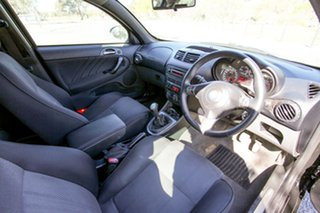 2009 Alfa Romeo 147 MY2009 Twin Spark Black 5 Speed Manual Hatchback