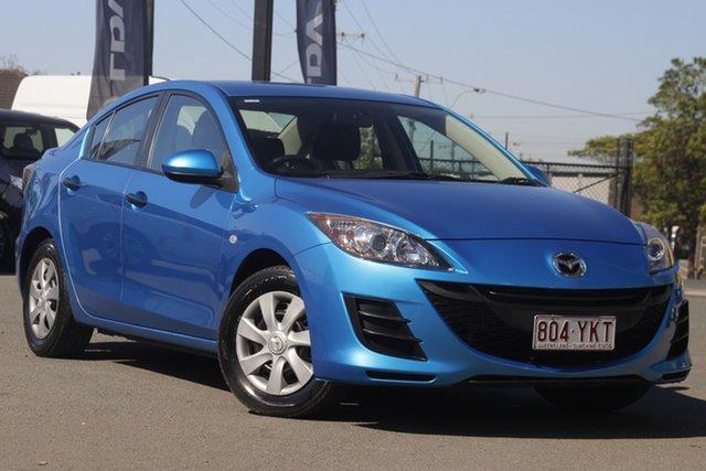 Used Mazda 3 BL10F1 MY10 Neo Activematic Rocklea, 2011 Mazda 3 BL10F1 MY10 Neo Activematic Celestial Blue 5 Speed Sports Automatic Sedan