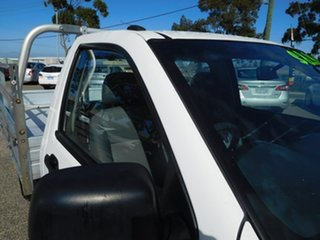 2008 Holden Rodeo RA MY08 DX 4x2 White 5 Speed Manual Cab Chassis