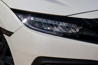 2017 Honda Civic 10th Gen MY17 VTi White 1 Speed Constant Variable Sedan