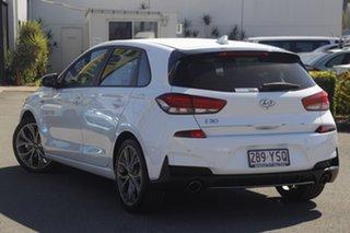 2019 Hyundai i30 PD.3 MY19 N Line Polar White 6 Speed Manual Hatchback.