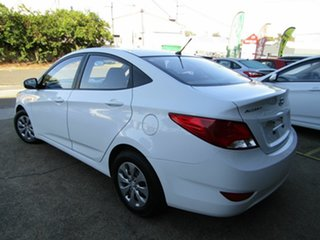 2016 Hyundai Accent RB4 MY17 Active White 6 Speed Constant Variable Sedan.