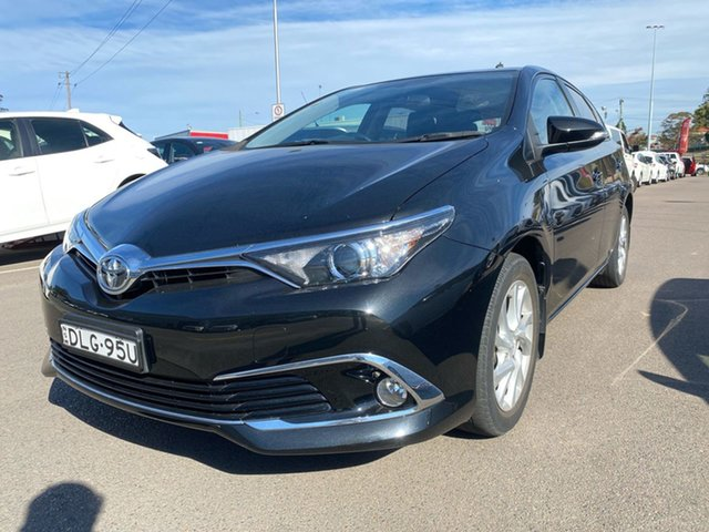 Pre-Owned Toyota Corolla ZRE182R Ascent Sport S-CVT Cardiff, 2016 Toyota Corolla ZRE182R Ascent Sport S-CVT Black 7 Speed Constant Variable Hatchback