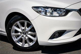 2016 Mazda 6 GL1031 Sport SKYACTIV-Drive White 6 Speed Sports Automatic Wagon.