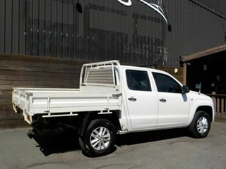2015 Volkswagen Amarok 2H MY16 TDI420 4MOTION Perm Core White 8 Speed Automatic Cab Chassis