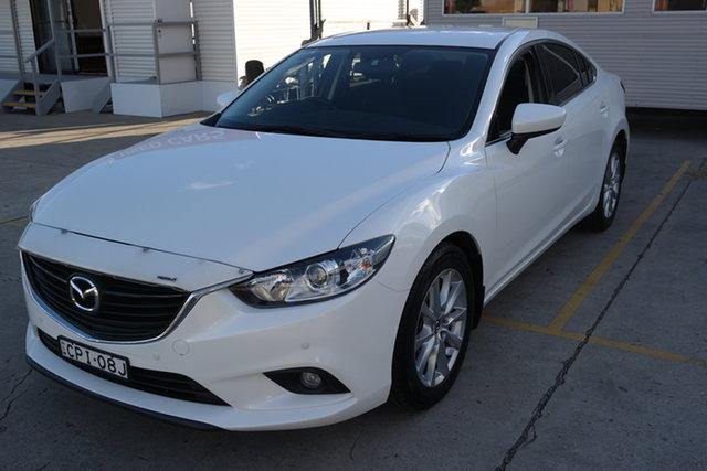 Used Mazda 6 GJ1031 Sport SKYACTIV-Drive Maryville, 2013 Mazda 6 GJ1031 Sport SKYACTIV-Drive White Pearl 6 Speed Sports Automatic Sedan