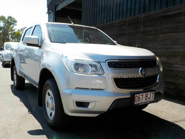 Used Holden Colorado RG MY16 LS Crew Cab Labrador, 2016 Holden Colorado RG MY16 LS Crew Cab Silver 6 Speed Sports Automatic Utility