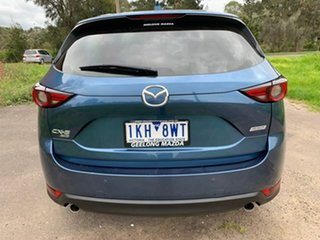 2017 Mazda CX-5 KF Series Touring Blue Sports Automatic Wagon