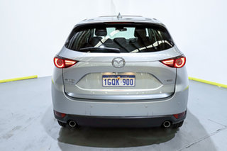 2018 Mazda CX-5 KF4WLA Akera SKYACTIV-Drive i-ACTIV AWD Silver 6 Speed Sports Automatic Wagon