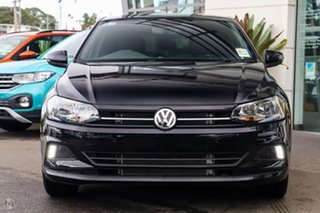 2021 Volkswagen Polo AW MY21 85TSI DSG Style Deep Black Pearl Effect 7 Speed