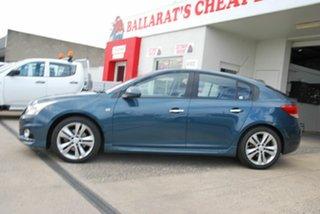 2012 Holden Cruze JH MY12 SRi V Blue 6 Speed Automatic Hatchback.
