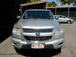 2016 Holden Colorado RG MY16 LS Crew Cab Silver 6 Speed Sports Automatic Utility