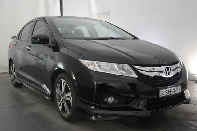 Used Honda City GM MY14 VTi-L Maryville, 2014 Honda City GM MY14 VTi-L Black 7 Speed Constant Variable Sedan