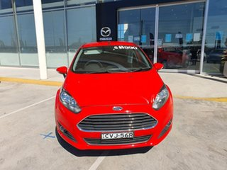2014 Ford Fiesta WZ Trend PwrShift Red 6 Speed Sports Automatic Dual Clutch Hatchback.