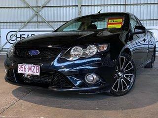 2010 Ford Falcon FG XR6 Ute Super Cab Turbo Black 6 Speed Manual Utility.