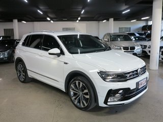 2017 Volkswagen Tiguan 5N MY18 140TDI DSG 4MOTION Highline White 7 Speed.