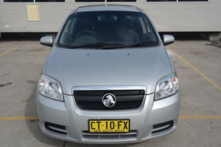 2010 Holden Barina TK MY10 Silver 4 Speed Automatic Sedan.
