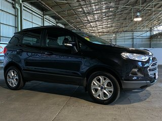 2014 Ford Ecosport BK Trend PwrShift Black 6 Speed Sports Automatic Dual Clutch Wagon.