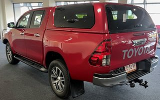 2018 Toyota Hilux GUN126R SR5 Double Cab Red 6 Speed Manual Utility