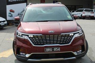 2021 Kia Carnival KA4 MY21 Platinum Flare Red 8 Speed Sports Automatic Wagon.