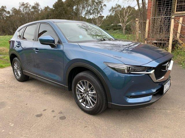 Used Mazda CX-5 Touring Geelong, 2017 Mazda CX-5 KF Series Touring Blue Sports Automatic Wagon