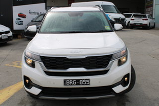 2021 Kia Seltos SP2 MY21 Sport+ 2WD Snow White Pearl 1 Speed Constant Variable Wagon.