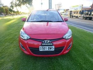 2012 Hyundai i20 PB Active Red Automatic Hatchback.