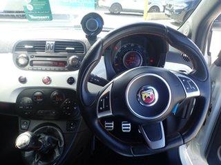 2012 Abarth 500 Esseesse White & Red 5 Speed Manual Hatchback