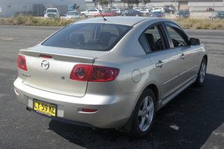 2005 Mazda 3 BK10F1 Maxx Silver 5 Speed Manual Sedan