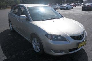 2005 Mazda 3 BK10F1 Maxx Silver 5 Speed Manual Sedan.