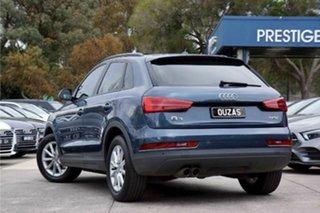 2016 Audi Q3 8U MY17 TFSI S Tronic Utopia Blue 6 Speed Sports Automatic Dual Clutch Wagon.