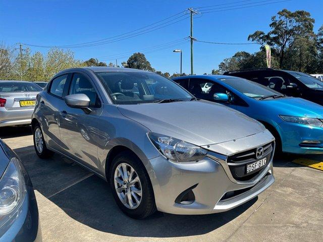 Used Mazda 2 DJ2HAA Maxx SKYACTIV-Drive Glendale, 2016 Mazda 2 DJ2HAA Maxx SKYACTIV-Drive Silver 6 Speed Sports Automatic Hatchback