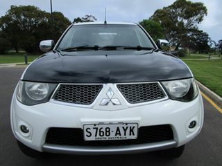 2013 Mitsubishi Triton MN MY12 GLX-R (4x4) White 5 Speed Manual 4x4 Double Cab Utility