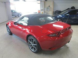 2017 Mazda MX-5 ND GT RF SKYACTIV-Drive Red 6 Speed Sports Automatic Targa