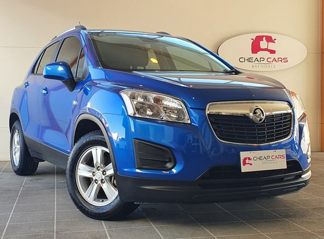 Used Holden Trax TJ MY14 LS Brendale, 2014 Holden Trax TJ MY14 LS Blue 6 Speed Automatic Wagon