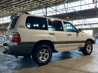 1999 Toyota Landcruiser HZJ105R Snowy GXL White 5 Speed Manual Wagon