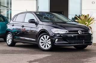 2021 Volkswagen Polo AW MY21 85TSI DSG Style Deep Black Pearl Effect 7 Speed.