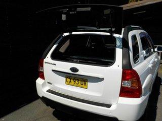 2009 Kia Sportage KM2 MY10 EX White 6 Speed Manual Wagon