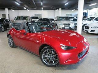 2017 Mazda MX-5 ND GT RF SKYACTIV-Drive Red 6 Speed Sports Automatic Targa.