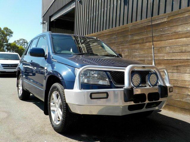 Used Suzuki Grand Vitara JB Type 2 Labrador, 2008 Suzuki Grand Vitara JB Type 2 Blue 5 Speed Manual Wagon