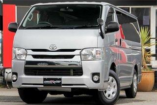 2016 Toyota HiAce KDH206V DX GL Silver Automatic.