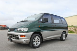 1999 Mitsubishi Starwagon WA GLX Green 4 Speed Automatic Wagon.