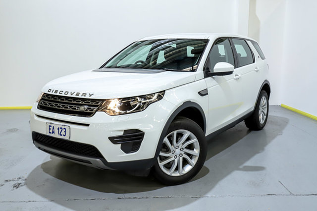 Used Land Rover Discovery Sport L550 17MY TD4 150 SE Canning Vale, 2017 Land Rover Discovery Sport L550 17MY TD4 150 SE White 9 Speed Sports Automatic Wagon